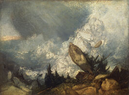 Turner: The Fall of an Avalanche in the Grisons
