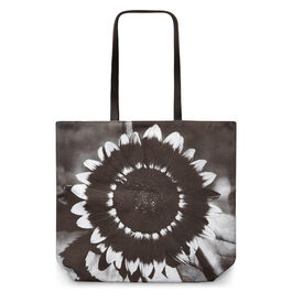 A Bee on A Sunflower tote bag