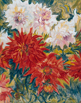 Jacob Epstein: Dahlias