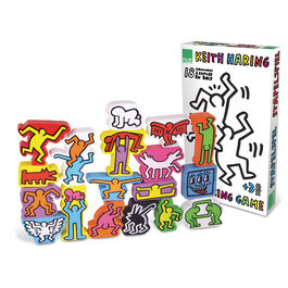 Keith Haring stacking figures game