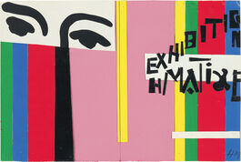 Matisse: Design for cover of exhibition catalogue