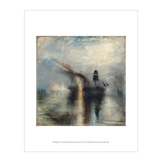 J.M.W Turner: Peace - Burial at Sea exhibition mini print