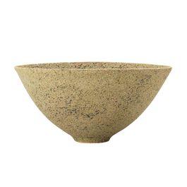 Textured natural ceramic bowl