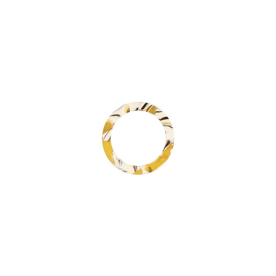 Copenhagen yellow cellulose acetate ring