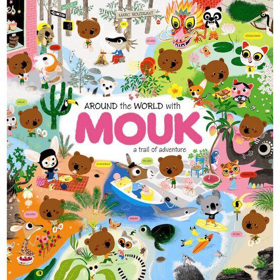 Around the World with Mouk sticker book