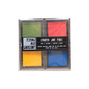Primary colours chroma ink pad set