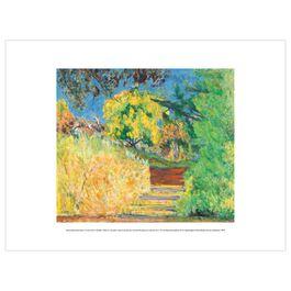 Pierre Bonnard: Stairs in the Artist's Garden exhibition print
