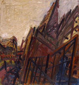 Frank Auerbach: Chimney in Mornington Crescent