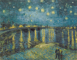 Vincent van Gogh: Starry Night over the Rhône