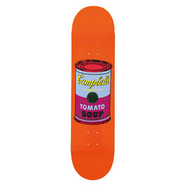 Warhol: Campbell's Soup Can skateboard - purple