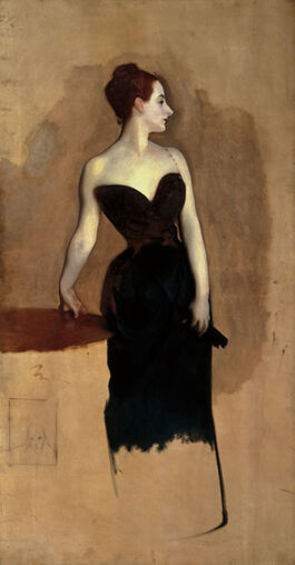 Sargent: Study of Mme Gatreau