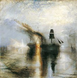 Turner: Peace - Burial at Sea