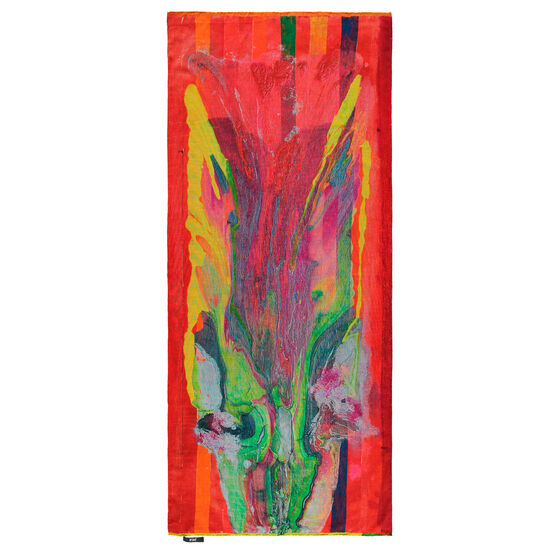 Frank Bowling Zenthree limited edition scarf