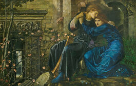 Edward Burne-Jones: Love among the Ruins