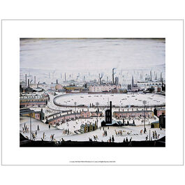 Lowry The Pond (unframed print)