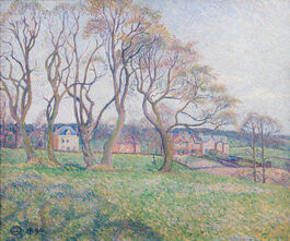 Lucien Pissarro: April, Epping