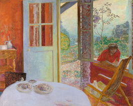 Pierre Bonnard: Dining Room in the Country