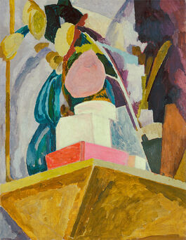 Vanessa Bell: Still Life on Corner of a Mantelpiece