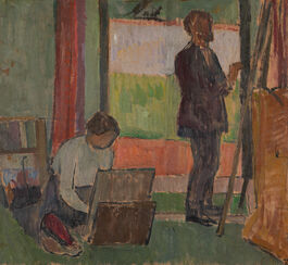 Vanessa Bell: Frederick and Jessie Etchells Painting