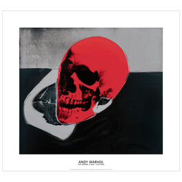 Andy Warhol: Skull large giclée print