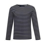 Breton stripe long-sleeved t-shirt