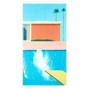 Hockney Bigger Splash towel