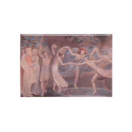 William Blake Fairies Dancing magnet