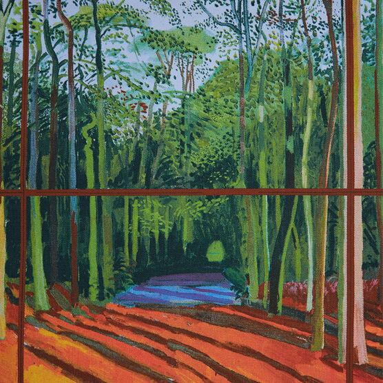 Hockney Woldgate Woods tote bag