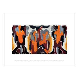 Natalia Goncharova: Bathers exhibition print