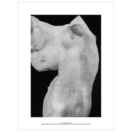 Auguste Rodin La Méditation exhibition art print