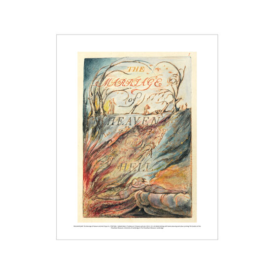 William Blake The Marriage of Heaven and Hell mini print