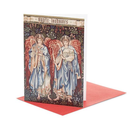 edward burne jones angeli laudantes christmas card pack of 10 - Christmas Card Packs