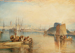Turner: Aldborough, Suffolk