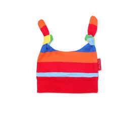 Multi-stripe baby hat