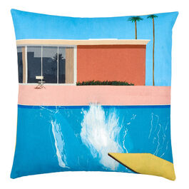 Hockney A Bigger Splash cushion cover