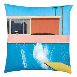 Hockney A Bigger Splash cushion cover