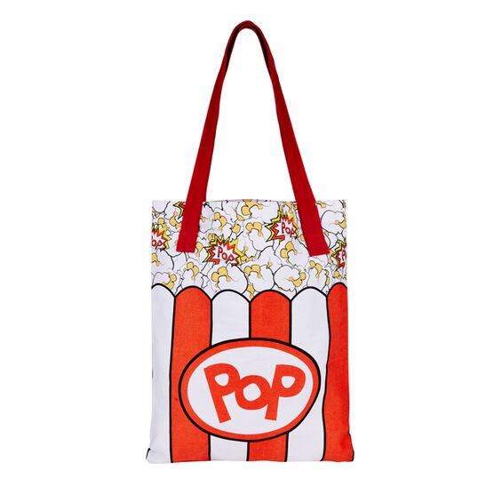World Goes Pop popcorn bag