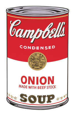 Andy Warhol: Campbell's Soup I: Onion