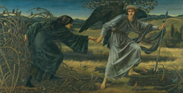 Edward Burne-Jones: Love and the Pilgrim