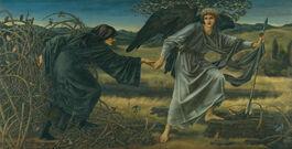 Edward Burne-Jones: Love and the Pilgrim