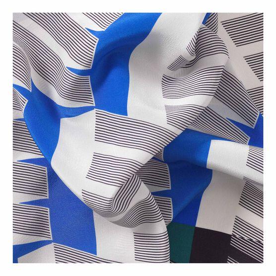 1970 print silk scarf detail
