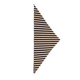 Striped triangle neckerchief