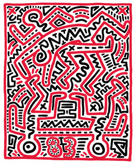 Keith Haring: Keith Haring at Fun Gallery