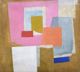 Nicholson: 1924 (first abstract painting, Chelsea)