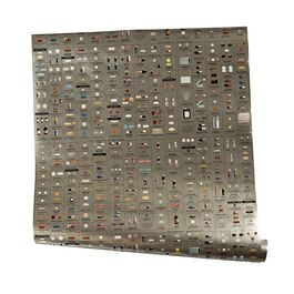 Damien Hirst Pharmacy Silver wallpaper