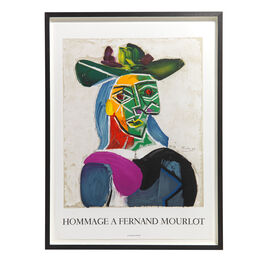 Pablo Picasso: Hommage a Fernand Mourlot framed lithographic poster