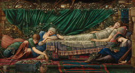 Edward Burne-Jones: The Rose Bower