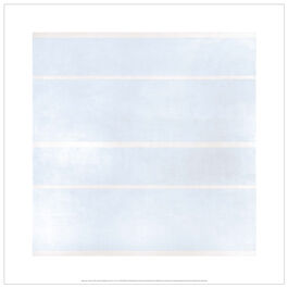 Agnes Martin Faraway Love screenprint