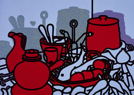 Patrick Caulfield: Glazed Earthenware