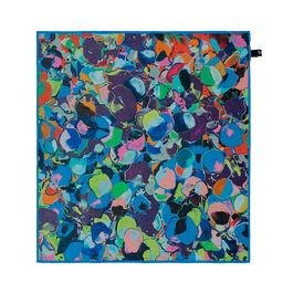 Ian Davenport Splatter silk scarf
